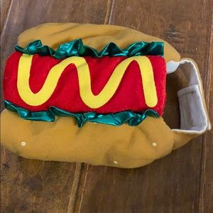 Dog Halloween Hotdog Costume
